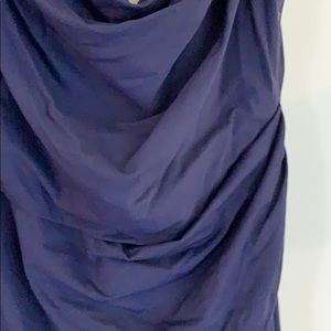 Melinda Eng Dresses - Beautiful navy long evening gown never worn.